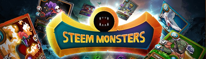 Steemmonsters blockchain trading cards game